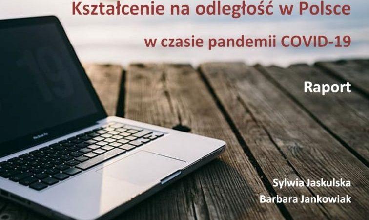 Kształcenie w Polsce w czasie pandemii COVID-19.