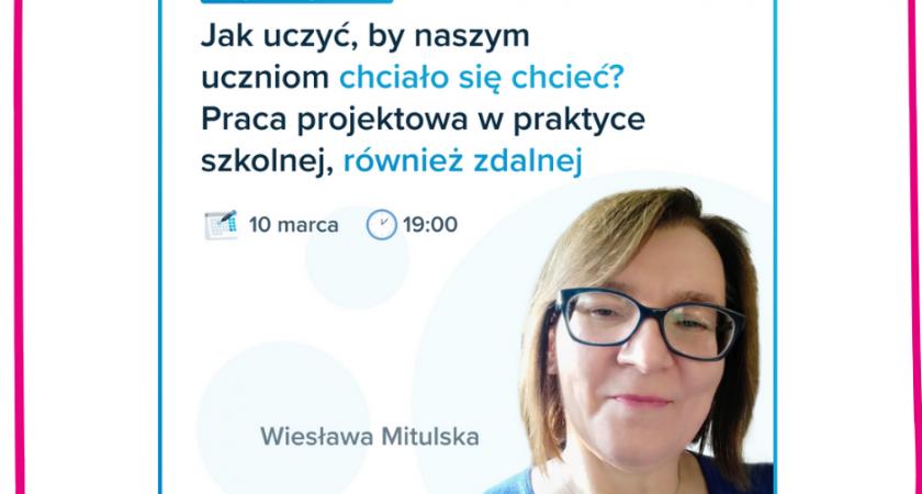 Wiesława Mitulska: PROJEKTowanie kompetencji