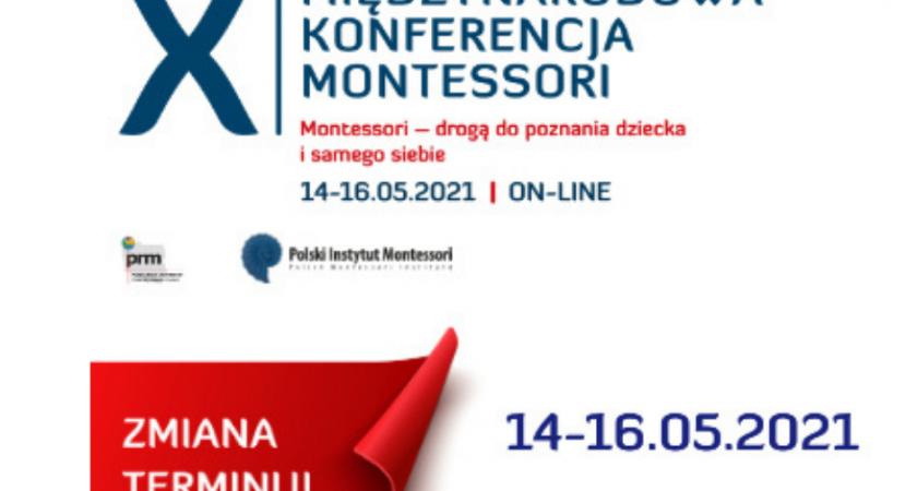 Fundacja Ja Nauczyciel partnerem X Międzynarodowej Konferencji Montessorii