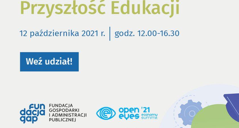 """""""Przyszłość edukacji"""" – zaproszenie na konferencję"""