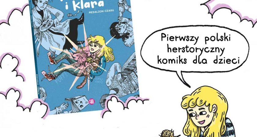 "#LekturaObowiązkowa: ""Karolina i Klara. Medalion czasu"""